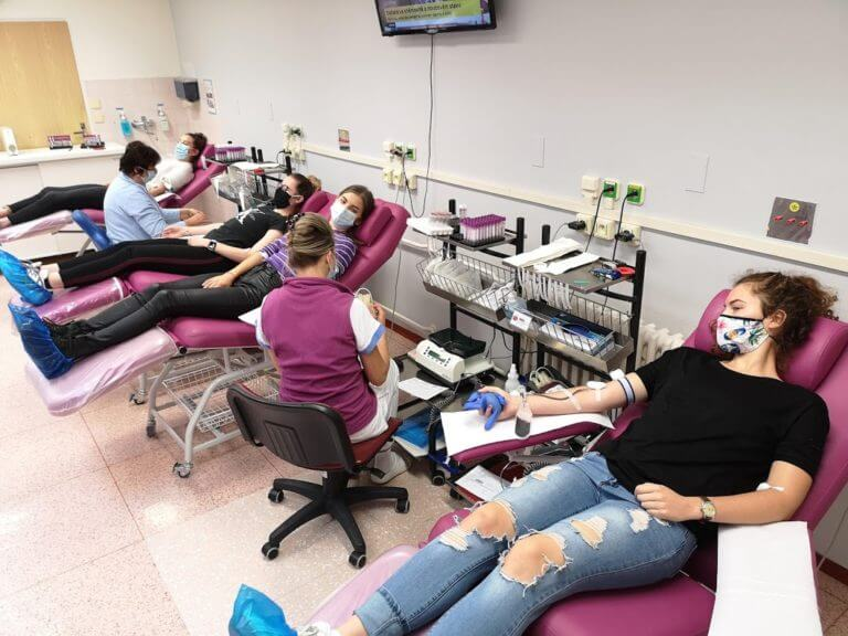Darování krve