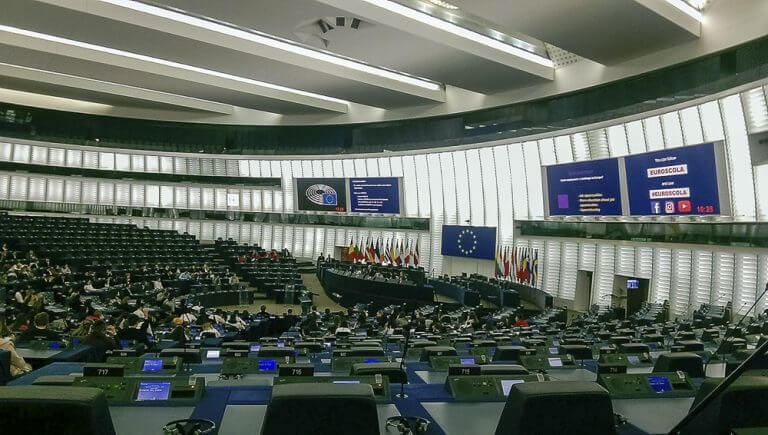 Euroscola - evropský parlament Štrasburk (2)