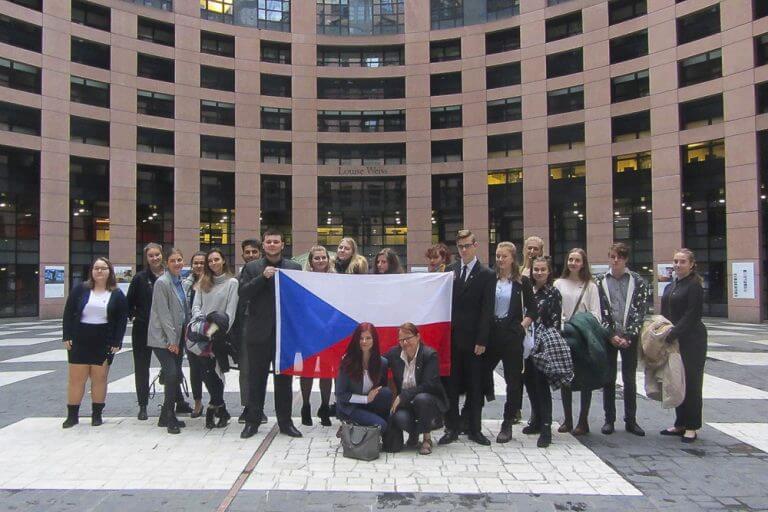Euroscola - evropský parlament Štrasburk