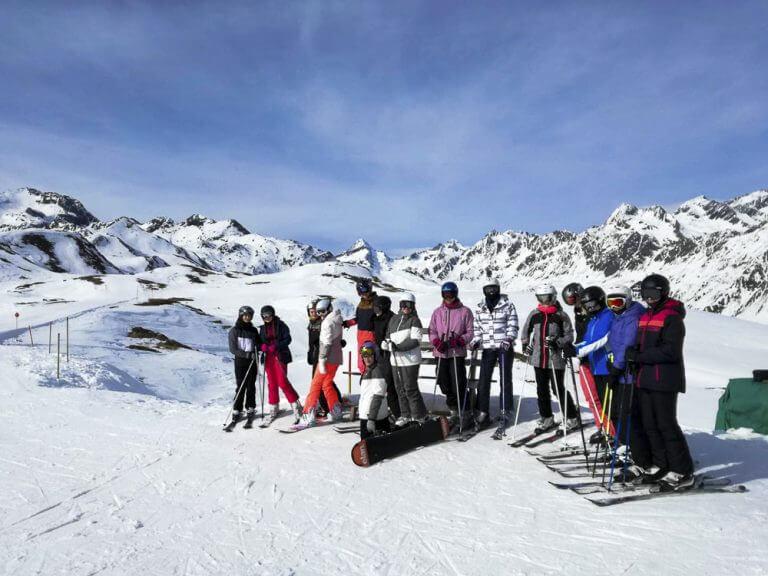 Lyžařský výcvik Alpy (2)